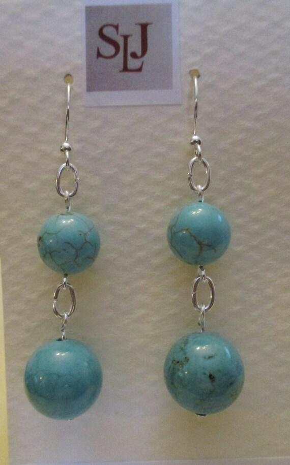 Magnesite Earrings E6151765