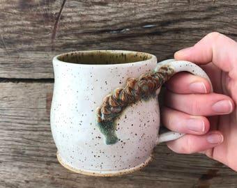 Speckled Green Mug