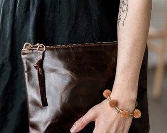 SALE. ABBY Leather Crossbody Purse. Leather Shoulder Bag. Cross body Shoulder Bag. Crossbody Bag.