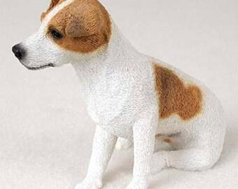 Custom Painted Jack Russell Terrier Dog Figurine