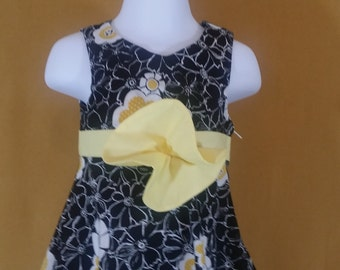 Toddler flared skirt dress