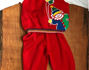Vintage Carter's 24 Month Outfit