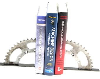 Motorcycle Sprocket Book End