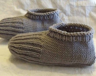 Learn to Knit Slippers Tutorial - Knitting Pattern for Kindle, iPad, Kobo, Nook, Computer