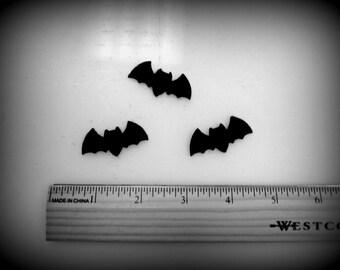"""Bats BATS bats.. 12 die cut  1.5""""  bats for your projects - craft felt your color choice"""