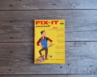 MACO Fix it Yourself - 1955 Illustrated DIY guide for fixing common household problems