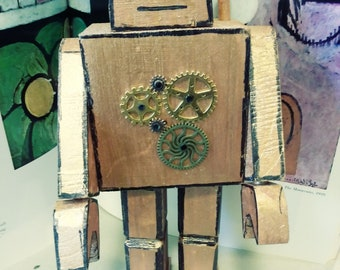 Steampunk Robot Craft kit