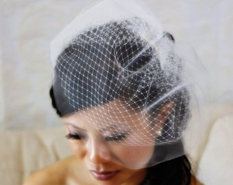 9 inch Double Layered Birdcage Veil