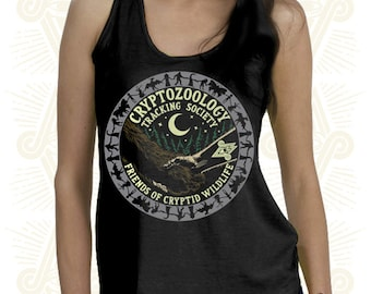Friends of Cryptid Wildlife - Glow in the Dark TANK (Ladies)