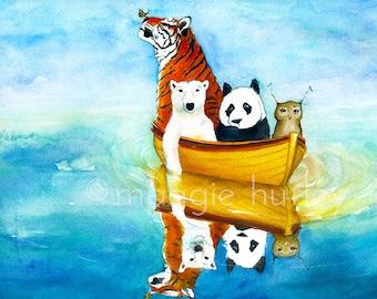 Fine Art Print - Herbert at Sea