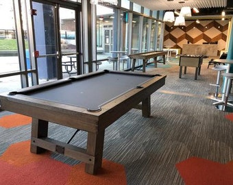 Pool Table Inspired By Restoration HardwareRustic Pool - Restoration hardware pool table