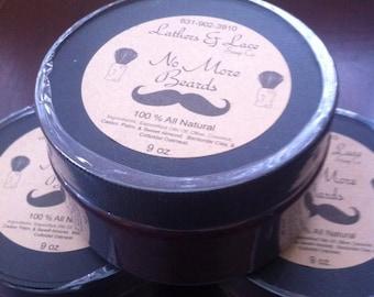 9 oz. All Natural Shaving Soap, Fragrance Free