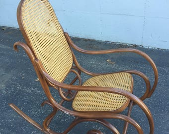 Bentwood Thonet Rocking Chair