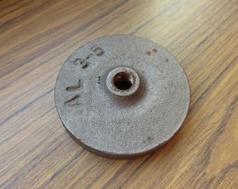 Vintage  1  1/4 Pound Lamp Weight