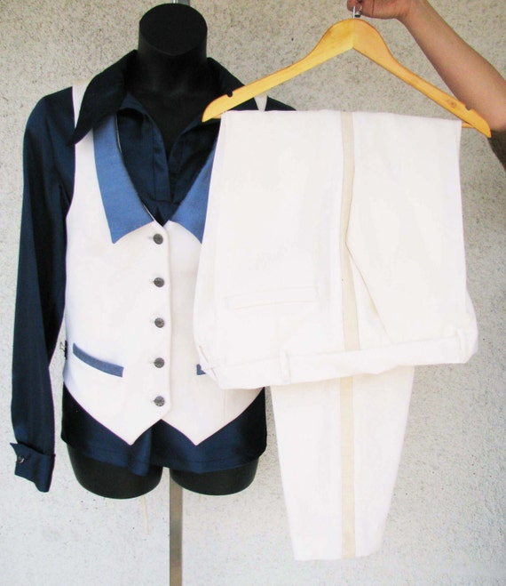 Ivory Wedding Suit for WomenCustom Made