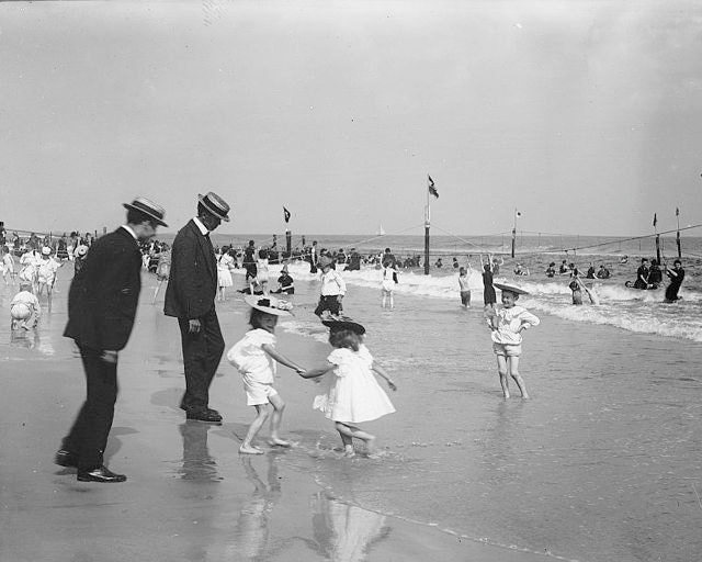 Image result for children on the beach 1900 south africa