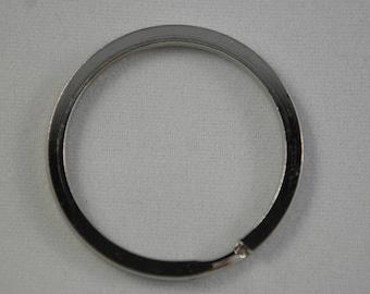 Silver 30mm key ring
