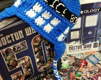 Doctor Who Inspired Tardis Fan Art Hat