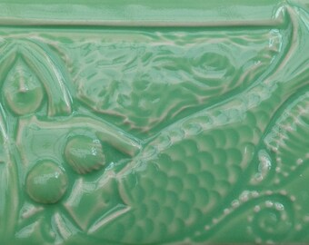 Mermaid Hand Made Subway Tile, ,  Handmade, Decorative, Backsplash