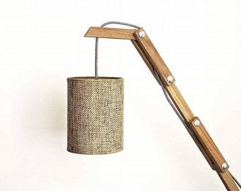 floor lamp (oak)
