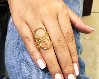 BUBBLE PLAIN long ring