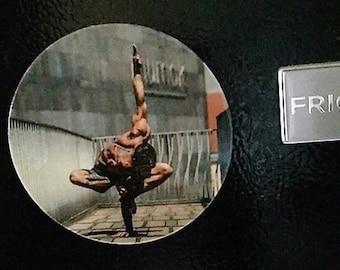 Hot Male Refrigerator Magnet, Yoga Art Magnet, Male Yoga Magnet, Gay Pride, Gay Male Art, Hot Yoga, Gay Gifts, Gift Ideas, Male Yoga Art