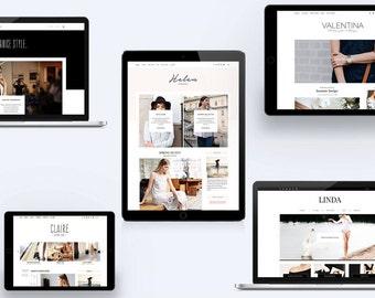 WordPress Themes Bundle: Stylish Blog & Magazine Templates