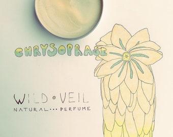 Chrysoprase • natural perfume. tropical rice pudding studded w/ creamy frangipani blossoms, sun-drunk skin.  botanical fragrance.