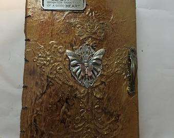 Butterfly sketchbook -sketches - artist sketchbook - writing journal - writers journal - songwriters journal -poetry journal -daily sketches