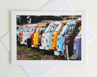 Kombis - fine art photography greeting card