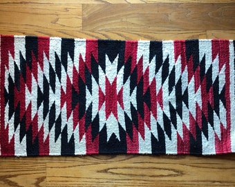 Vintage Native American Textile Rug c1960s