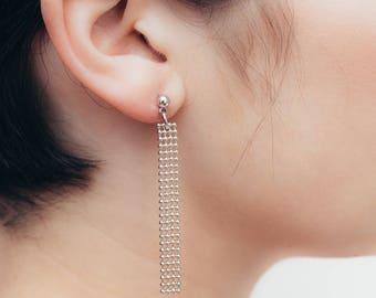 Baby Ball Chain Earrings