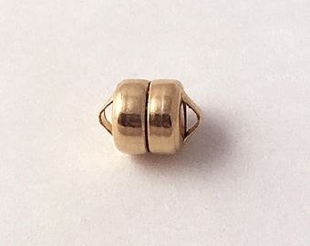 Gold magnetic clasp Etsy