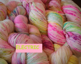 READY TO SHIP New bases added. Kettle Dye, Neon, Color - Electric