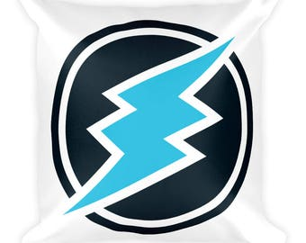 Electroneum Crypto Fan Square Pillow