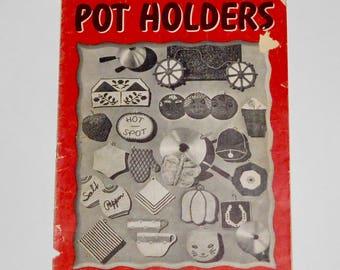 Pot Holders 1943 Clark's Book No 196 Crochet Patterns