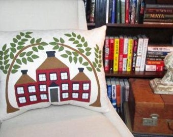 Red House pillow
