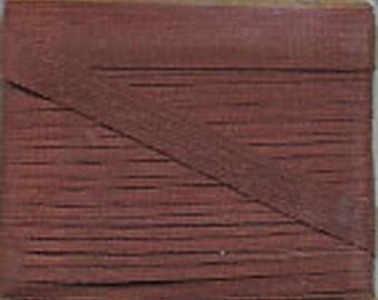 4 mm Brown Silk Ribbon