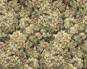 Tapestry with floral pattern