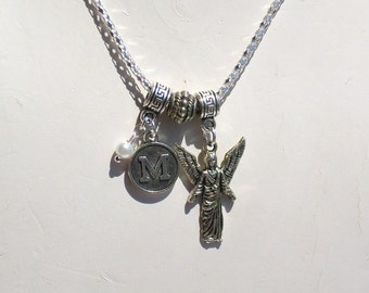 Add on Initial for Angel Necklace
