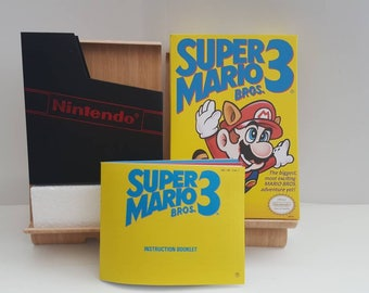NES Super Mario Bros 3 - Replacement Box NO Game Included