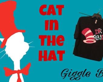 Cat in the Hat Tee