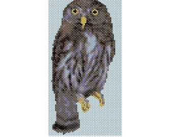 Owl 2 Peyote stitch PATTERN
