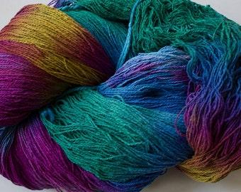 Stella, silk noil yarn, 1350 yds-  Aurora