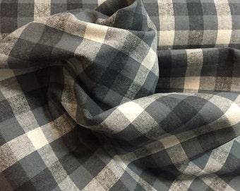 Plaid Flannel - Gray