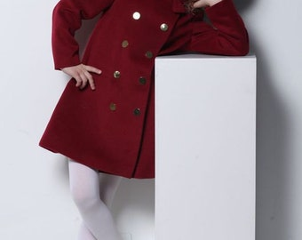 Girls' coat, girls' clothing, outwear for kids