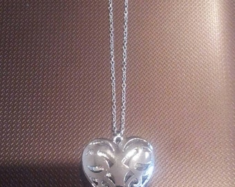 Caroline Forbes - Vampire Diaries inspired heart necklace
