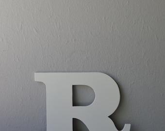 Vintage Sign Letter R