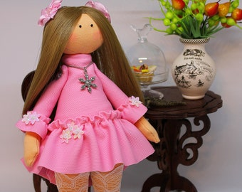 Interior Textile Woolcott doll (Handmade) 25cm