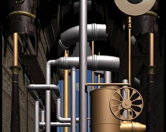 Steam Punk Architecture 05